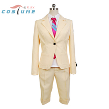 Hamatora Koneko Anime Uniform Men Women Jacket Shorts Shirt Tie Halloween Party Cosplay Costume Custom Made