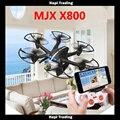 X800 mini RC Drone quadcopter dron Helicóptero MJX 2.4G 6-Axis Pode adicionar c4005 cx20 fpv wifi camera branco preto vs jjrc h20