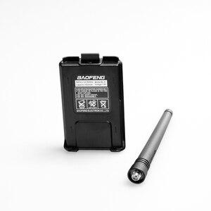 Image 3 - (2 pièces) Baofeng UV5RA Ham Radio bidirectionnelle talkie walkie émetteur récepteur double bande (noir)