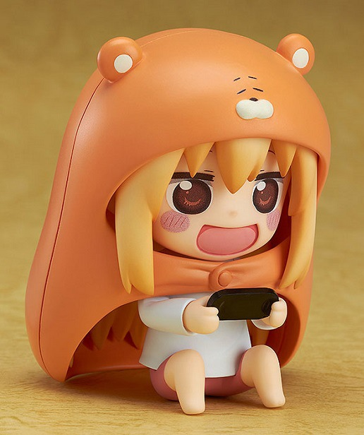 10cm Himouto Umaru-chan Nendoroid Umaru #524 Anime Action Figure PVC toys Collection figures for friends gifts 31