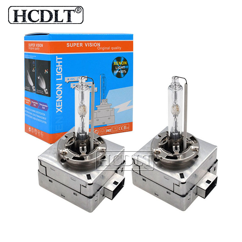 HCDLT Original Car Light 55W <font><b>Xenon</b></font> HID <font><b>D1S</b></font> 35W <font><b>6000K</b></font> D3S Auto Headlamp Bulb For Kit <font><b>Xenon</b></font> <font><b>D1S</b></font> HID Ballast D3S 4300K 5000K 8000K image