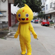 Adult Water Drop Mascot Costume Size Apparels Fancy Dress Free Shipping for Halloween Party Costumes