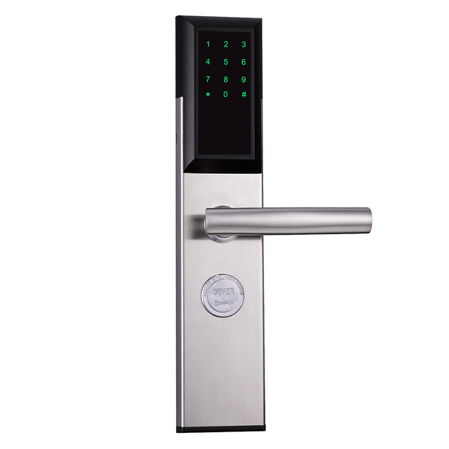WiFi Electronic Door Lock,Smart Bluetooth Digital APP Keypad Code Keyless Door Lock,Password Keyless Door Home Lock Electronic