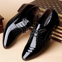 Executive Oxford luxury Brand Patent Leather Men's Shoe