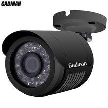 GADINAN AHDM CCTV Camera IP66 Waterproof  1.0MP/1.3MP Indoor Outdoor 3.6mm Lens 24pcs IR Leds IR-Cut Filter Security ABS Housing