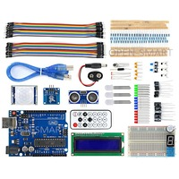 UNO R3 BreadBoard Advance Kit With Variety Of Sensors LCD Display Module And Tutorial For Arduino