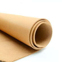 cow leather first layer genuine leather thick about 2mm material for wallet DIY material color Khaki