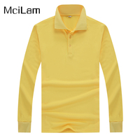 Breathable Sport Shirt Men Golf Polo Shirt Spring Autumn Long Sleeve Jerseys Quick Dry Male Tops