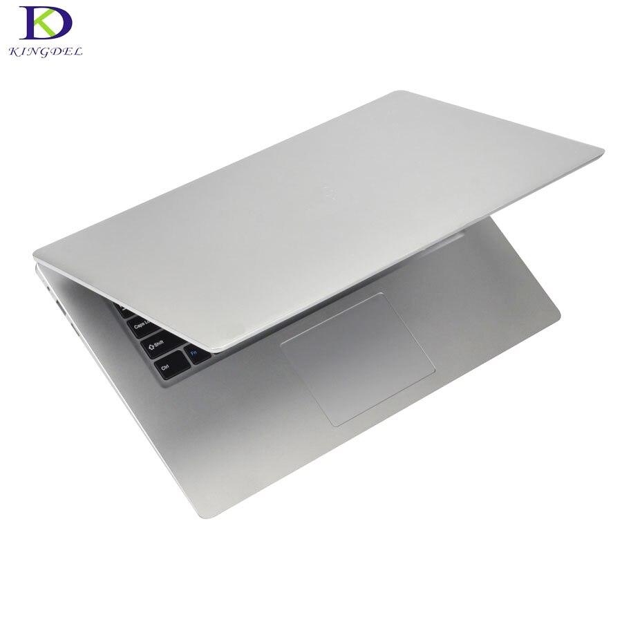 15,6-дюймовый нетбук четырехъядерный процессор Celeron N3450 Bluetooth компьютер Windows 10 6G RAM 64GB EMMC HDMI RJ45 ноутбук