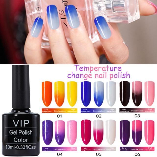 Tienda Online Mdskl gel de cambio de temperatura Esmaltes de uñas de ...