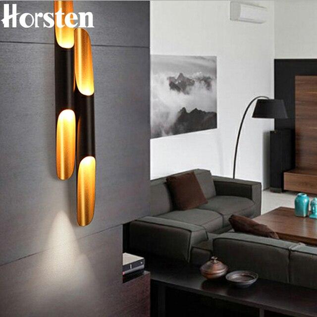 Horsten Creatieve Dubbele Hoofden Aluminium Pijp Lamp Cilinder ...