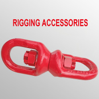 3 Tons 8 Shape Rigging Accessories Lifting Universal Rotating Ring Connecting Rings Lifting Tool Accessories