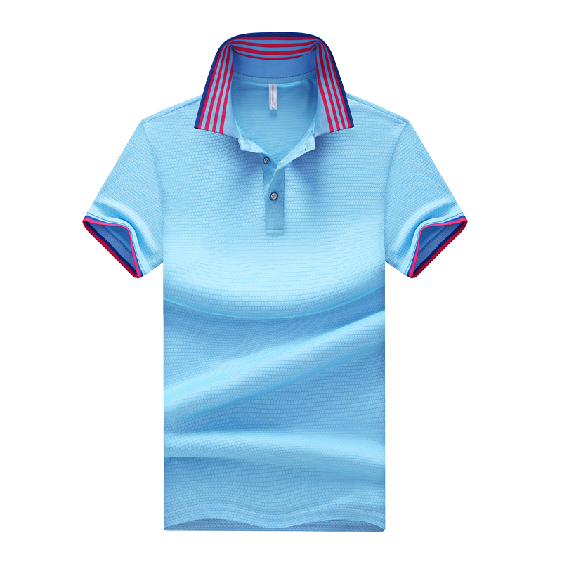 2019 Solid Color Summer   POLO   Shirts Men Cotton Short Sleeve   POLO   shirts Breathable Anti-Pilling high-grade slim Fit   POLO   shirts