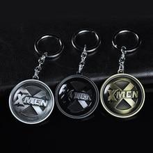 Fashion X-Men Keychain For Man Trinket Vintage Silver Men's Key Chain Ring Bag Key Holder Car Keyring Souvenirs Jewelry Gift цены онлайн
