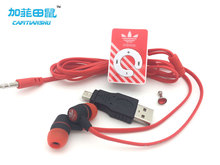 fashion Mini Clip MP3  Player Supporting TF Card With Earphone & Mini USB portable sports Music mp3 player