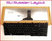 Novo teclado ru versão russa para toshiba satellite L675-S7044 L675-S7048 L675D-S7013 L675D-S7022 portátil preto