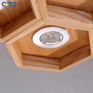 Image 4 - Legno A Nido Dape LED Moderna Lampada A Sospensione Coperta Sala da pranzo Foyer Casa Ornamento Pendente Luce 110 240 V Spedizione Gratuita