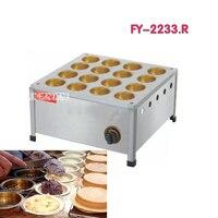 1 pc FY 2233.R 16 buraco gás não vara de cobre xícara de roda Taiwan máquina de pão máquina de bolo de feijão vermelho|cup cake machine|red bean cake machinecake machine -