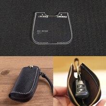 Lychee Life 1 шт. сумка для ключей швейный узор емкость для хранения акрила сумка трафареты DIY кожа ручной работы ремесла поставки