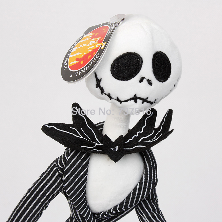 the nightmare before christmas jack skellington 125 poseable plush toy new doll xmas halloween in dolls from toys hobbies on aliexpresscom alibaba