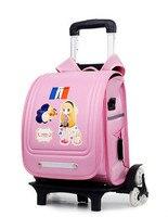 Рюкзаки на колесиках школьный рюкзак Sac Dos детские сумки Bolsa Infantil школьные рюкзаки для девочек школьный обратно в школу рюкзаки