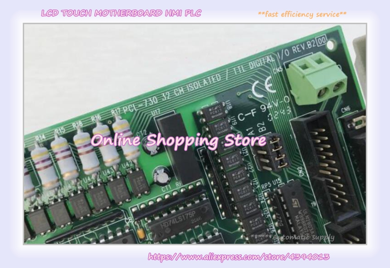 PCL-730 32-channel isolated digital I/O cardPCL-730 32-channel isolated digital I/O card