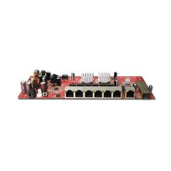 OEM/ODM 10/100/1000Mbps 9 port gigabit SFP switch module support AF/AT   poe switch