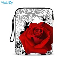 Skull print waterproof 9.7 inch laptop tablet bag notebook protective sleeve Case Cover For iPad Air 2 for ipad pro IP-9317