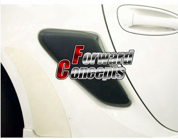 FOR 06-11 CAYMAN BOXSTER 987 SIDE AIR TAR VENTER SCOOPS GRILL