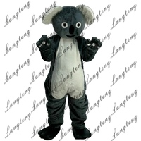 Hot Sale Koala Mascot Costume Adult Size Halloween Outfit Fancy Dress Suit Free Shipping2019New