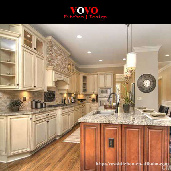 New Model Solid Wood Kitchen Cabinet-in Kitchen Cabinets
