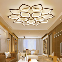 Simple Atmosphere Home Style Led Ceiling Lamp Hall Bedroom Study Acrylic Lamp Post Modern Living Room