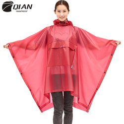 Chubasquero QIAN Impermeable para mujer, Impermeable, respetuoso con el medio ambiente, para bicicleta, Impermeable, chaqueta TPU para mujeres/hombres, senderismo, ropa de lluvia, abrigo para hombres