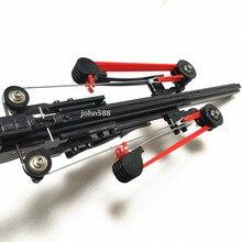 עשירי גרסה חצי אוטומטי 40BB הקלע רובה SlingBow לצייר כוח גומייה תחמושת חץ כדור בסיסי גרסה