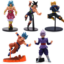 Anime Dragon Ball Z Super Ultimate Soldiers The Movie Broly Goku Vegeta Figurine PVC Action Figure Collectible Model Toys Doll cd sweet action the ultimate story