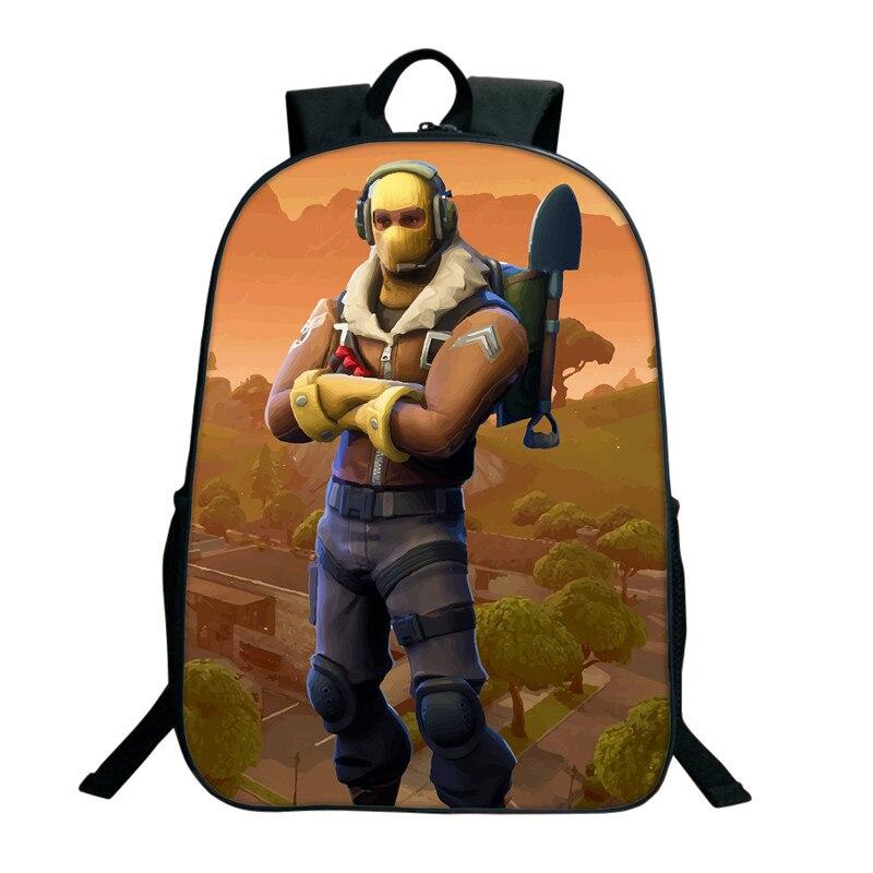 """Game Overwatch Personalised Boys Book Laptop Backpack+Pen Bag Kid's Rucksack 16/"""""""