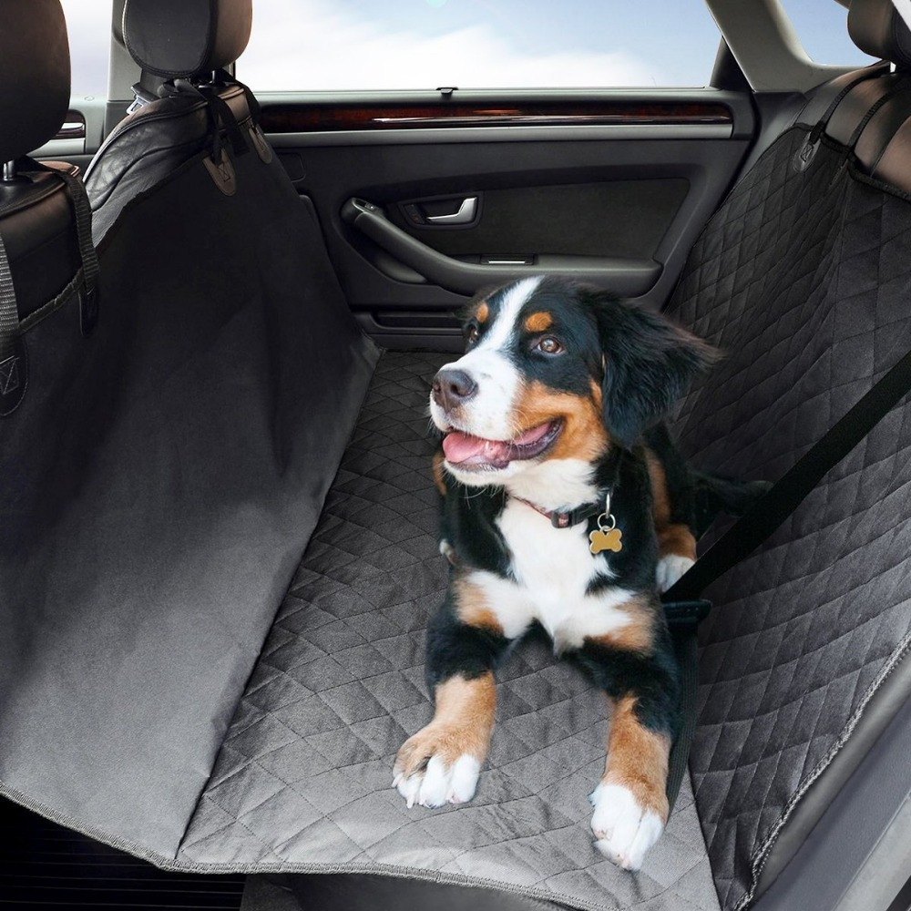 Pet Dog Cat Car Seat Cover Safety Waterproof Hammock Blanket Cover Mat Travel with free Pet Seat Belt Baby Scratch Protector