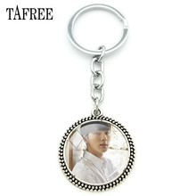 TAFREE KPOP BTS Keychain Bangtan Boys Fashion Exquisite Love Yourself Key Chain Key Ring Keyring Bts Accessories Jewelry BTS11(China)