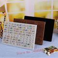 Ring Display Stand velvet ring dislay holder jewelry display stand (hold upto 100 rings) Earring Stand Muliti-color