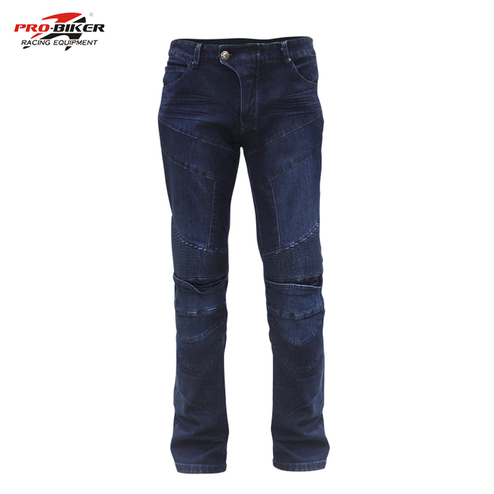 ФОТО Riding Tribe Summer Breathable Motorcycle Riding Pants Drop Resistance Slim Denim Motocross Off-road Racing Jeans HP03