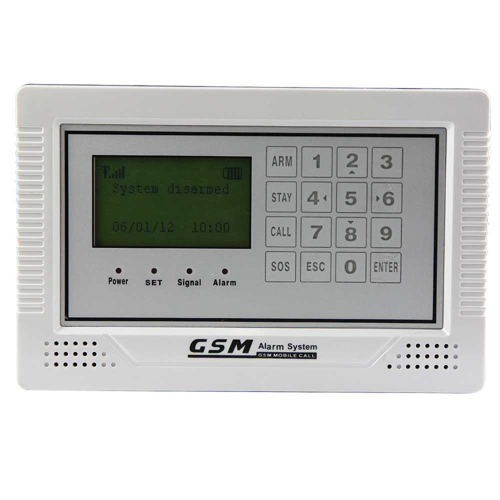 все цены на LCD screen with clock display GSM Alarm System онлайн