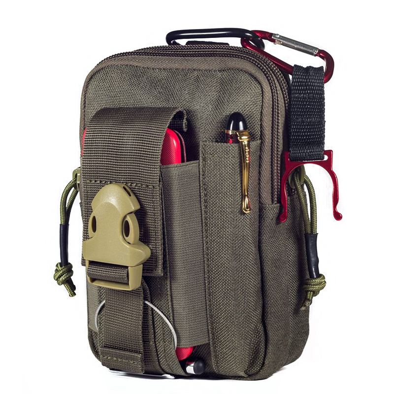 Onetigris Pouches Electronic-Gadget-Pouch Tactical Belt Waist-Bag-Pack MOLLE Utility