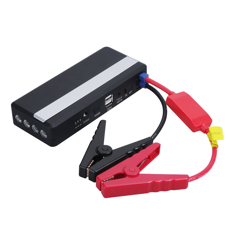 Portable External Jump Starter 14000mah 12v Emergency Battery Charge Car Battery Booster Power Bank for Car,Mobile Phone,Laptop 12v portable car jump starter 18800mah car jumper booster power battery charger for mobile phone laptop power bank emergency