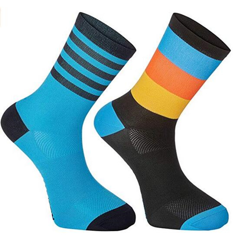 Compressprint Men New Cycling Socks Men Outdoor Mount Sports Wearproof Bike Footwear For Road Bike Socks Running Socks