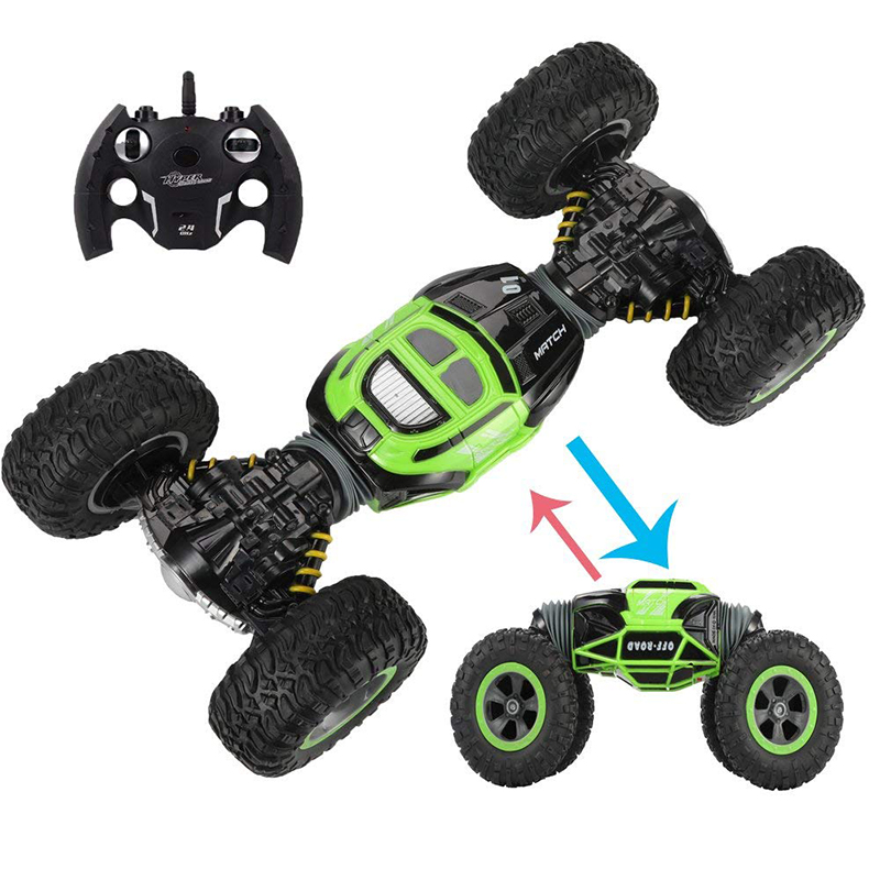 2.4Ghz 4WD Remote Control Electric Crawl Off Road Truck High Speed Racing Climbing RC Monster Vehicle RC Transform Stunt Car33cm2.4Ghz 4WD Remote Control Electric Crawl Off Road Truck High Speed Racing Climbing RC Monster Vehicle RC Transform Stunt Car33cm