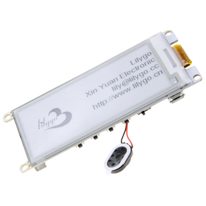 "Image 1 - LILYGO®TTGO Neue T5 V 2,2 ESP32 2.9 ""Epaper display Modul E Tinte Lautsprecher Wifi Bluetooth Entwicklung Bord"