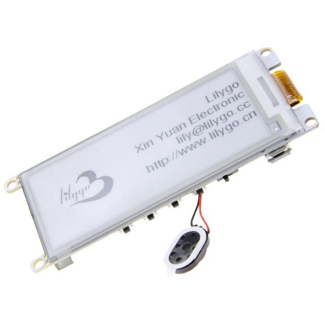 "LILYGO®TTGO Neue T5 V 2,2 ESP32 2.9 ""Epaper display Modul E Tinte Lautsprecher Wifi Bluetooth Entwicklung Bord"