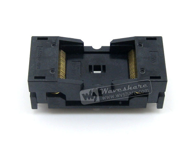 Wells IC Test Socket Adapter 648-0482211-A01 0.5mm Pitch TSOP48 Package ic xeltek programmers imported private cx3025 test writers convert adapter