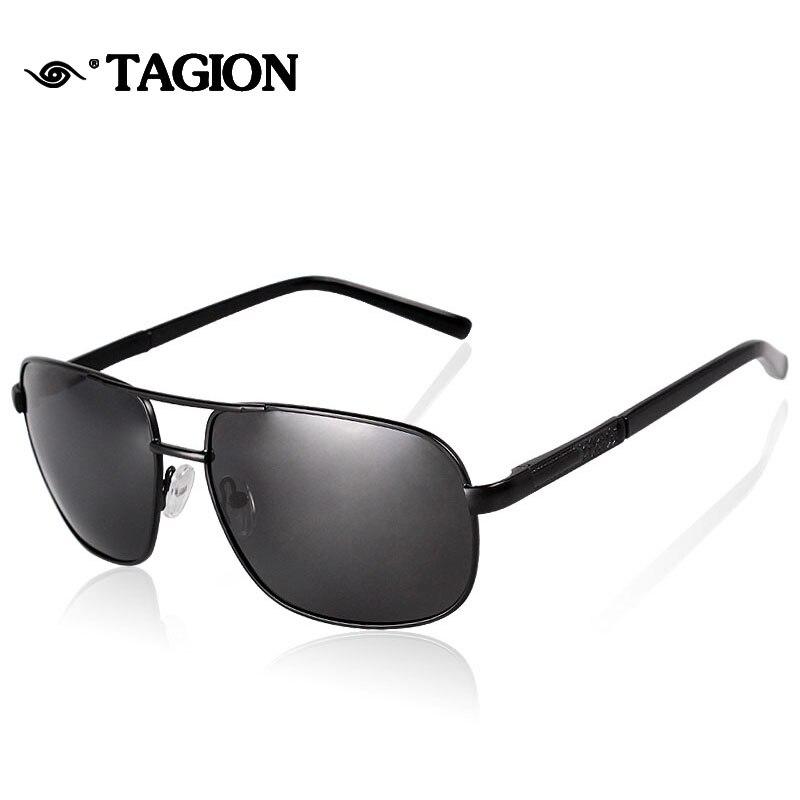 2016 hombres gafas de Sol Polarizadas Gafas de Sol en Forma de Rectángulo  Gafas de Sol Sombra Puntos de Polarización Gafas de So. 326a7275368c