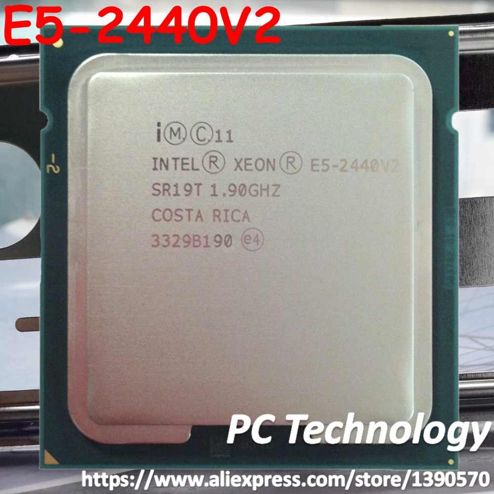 Original Intel Xeon cpu OEM Version E5-2440V2 1.90GHz 8-Core 20MB LGA1356 E5 2440 V2 95W E5-2440 V2 free shipping E5 2440V2